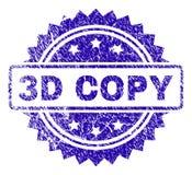 De Zegelverbinding van het Grunge 3D EXEMPLAAR Vector Illustratie