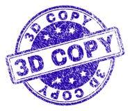 De Zegelverbinding van het Grunge Geweven 3D EXEMPLAAR stock illustratie