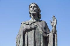 De zegen van Jesus Christ Stock Foto's