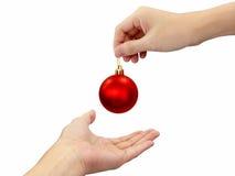 De zegen van Kerstmis Stock Fotografie