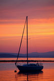 De zeilboot Royalty-vrije Stock Fotografie