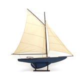 De zeilboot van het stuk speelgoed Royalty-vrije Stock Foto's