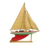 De zeilboot van het stuk speelgoed Stock Fotografie