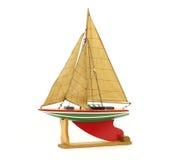 De zeilboot van het stuk speelgoed Royalty-vrije Stock Afbeelding