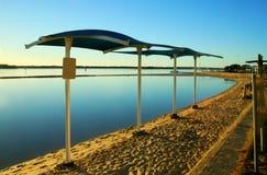 De Zeilen van de Schaduw van de lagune Royalty-vrije Stock Foto's