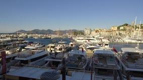 De Zeilenfestival 12 September 2017 van Cannes stock footage
