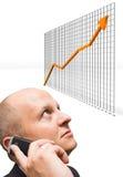 De zekere Groei Stock Afbeeldingen