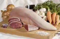 De zeldzame Tong van het Rundvlees Royalty-vrije Stock Foto's