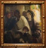 ` 1900 de Zeno Bachit de Di de battesimo de l'IL de ` par Carlo Donati photos stock