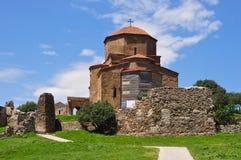De zesde eeuw van het Jvariklooster dichtbij Tbilisi, Mtskheta, Georgië royalty-vrije stock afbeelding