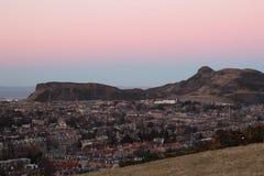 De Zetel Edinburgh van Arthur Royalty-vrije Stock Foto