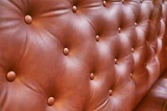 De zetel van het luxeleer Royalty-vrije Stock Foto's