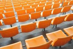 De zetel van het stadion Stock Afbeelding