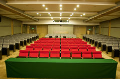 De zetel van het theater Stock Foto's