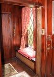 De zetel van het venster Stock Afbeeldingen