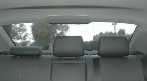 De zetels van de auto Royalty-vrije Stock Foto's
