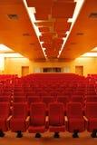De Zetels van de bioscoop royalty-vrije stock afbeelding