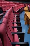 De zetels van de bioskoop Stock Fotografie
