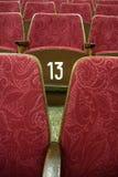 De zetels van de bioskoop Royalty-vrije Stock Foto's