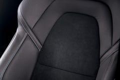 De zetels van de leerauto royalty-vrije stock afbeelding