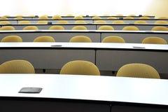 De zetels van de lezingszaal stock foto