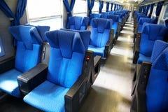 De Zetels van de trein Royalty-vrije Stock Afbeeldingen