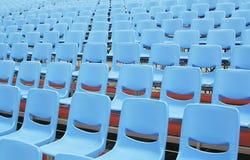 De Zetels van het seminarie zonder aanwezigen Royalty-vrije Stock Afbeeldingen