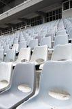 De zetels van het stadion stock foto