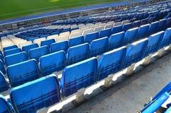 De Zetels van het stadion Stock Afbeeldingen