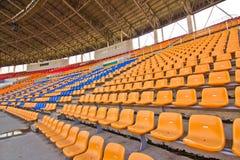 De zetels van het stadion royalty-vrije stock foto's