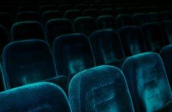 De Zetels van het theater stock afbeelding