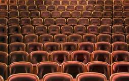De zetels van het theater Royalty-vrije Stock Foto's