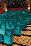 De zetels van het theater Stock Afbeeldingen