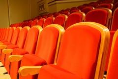 De zetels van het theater Stock Foto
