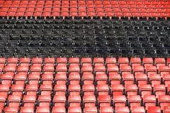 De zetels van toeschouwers Royalty-vrije Stock Foto's