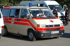 De ziekenwagen Royalty-vrije Stock Foto's
