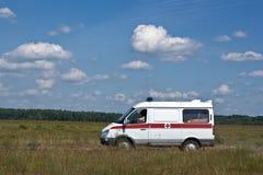 De ziekenwagen van de noodsituatie royalty-vrije stock afbeeldingen