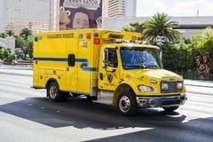 De ziekenwagen van Las Vegas royalty-vrije stock foto's