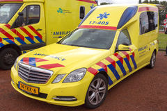 De Ziekenwagen van Mercedes-Benz e-Klasse Royalty-vrije Stock Afbeelding
