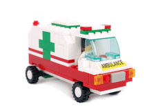 De ziekenwagenauto van de noodsituatie Stock Afbeeldingen