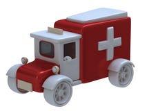 De ziekenwagenauto van de noodsituatie Stock Foto's