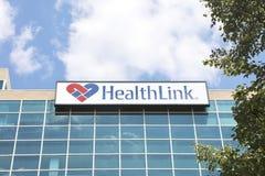 De Ziektekostenverzekeringbedrijf van de gezondheidsverbinding Stock Foto