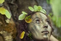 De ziel van de boom Stock Foto