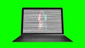 De ziel van het spook een computer stock video