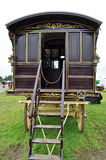 De zigeunertaalcaravan bij bad en het westen tonen beeld 1 van 7 royalty-vrije stock afbeelding