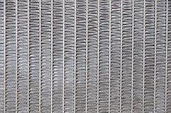 De zigzagtextuur van het staal Stock Afbeeldingen