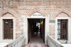 De zijdemarkt van Kozahan in Bursaö Turkije Royalty-vrije Stock Fotografie