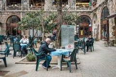 De zijdemarkt van Kozahan in Bursaö Turkije Stock Fotografie
