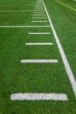 De zijlijnen van de voetbal - werven Royalty-vrije Stock Afbeeldingen
