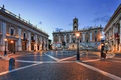 De zijstijging van Rome Capitol Hill Stock Afbeelding